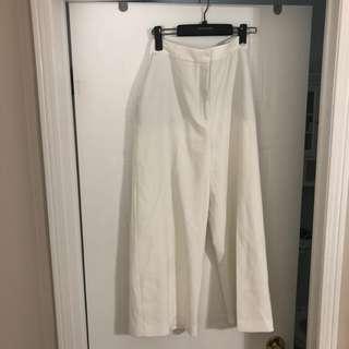 Zara trousers (wide leg)