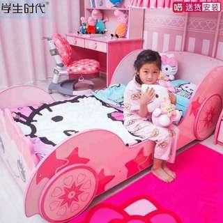Hello Kitty Bed Frame for Kids