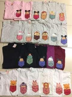 Family Shirts • Couple Shirts • Sister Shirts • Tsum Tsum Character • DIY