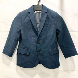 H&M Boys Navy Blue Blazer
