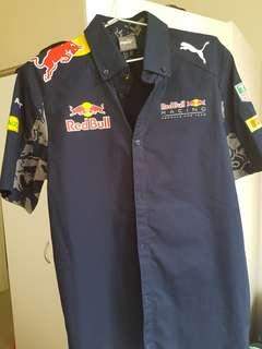 Red Bull official team shirt Formula 1 2016 NEW (no tags)