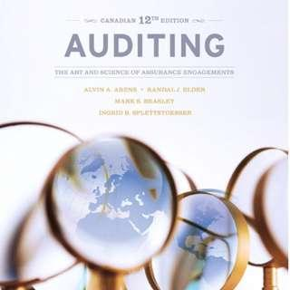 Auditing The Art of Science Engagements 12th Edition Instructors Manual and Test Bank