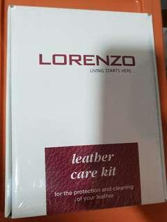 Lorenzo leather cleaning kit