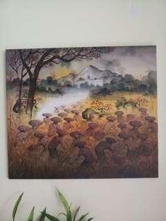 Padi Field Painting