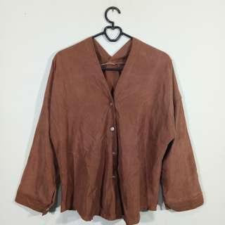 Kimono shirt (belum disetrika)