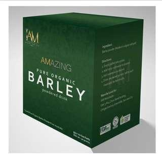 IAMWORLDWIDE Organic Pure Barley Powdered Drink