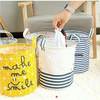 Toy Storage Bag laundry basket rare cute size
