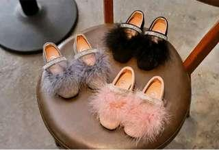 🌟PM for price🌟 🍀Baby Girl Soft Feather PU Leather Shoes🍀
