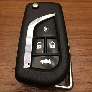 Toyota 折疊鑰匙  四鍵 摺疊鑰匙 豐田 移植 vios altis camry rav4 yaris DIY商品