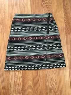 Cute geometric patterns skirt