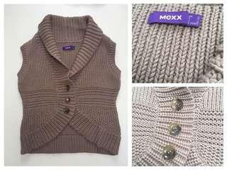 New MEXX taupe sweater.