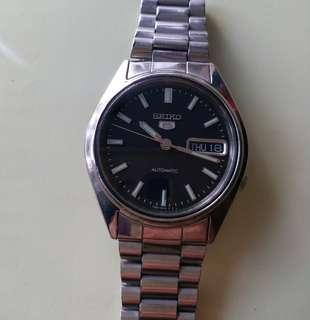 Seiko 5 Automatic watch精工5錶(time accurate 時間精準)