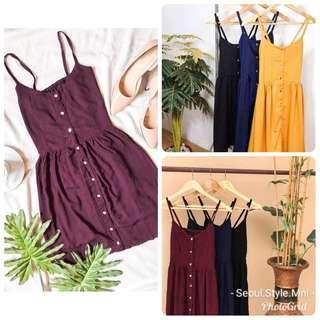 🔥SALE 90's Button Down Vintage Dress