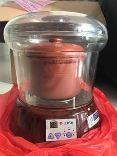 Reduced!! Zisa purple clay double boiler (electric)