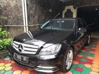 Mercedes C300 Avantgarde 2012 Mulus Jarang Pakai