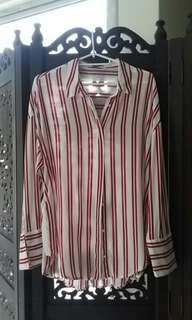 MNG Stripes Blouse