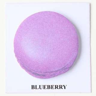 🚚 Macaroon Sticky Note - Blueberry