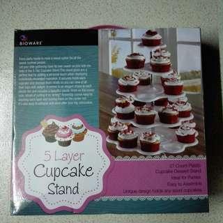 5 layer cupcake stand
