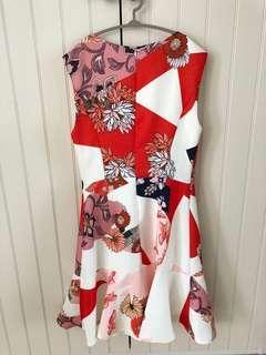 Unworn Saturday Club Floral Dress