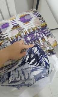 thick fabric, gorgeous and elegant print