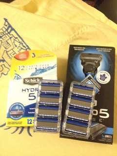 Hydro 5 Razor NEW and 8 cartridges