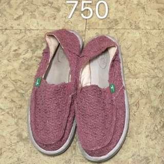 Sanuk USA 8號 女鞋9-8成新