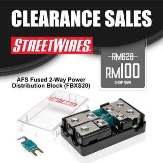 STREETWIRES AFS Fused 2-Way Power Distribution Block (FBXS20)