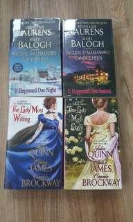 Romance written by famous authors