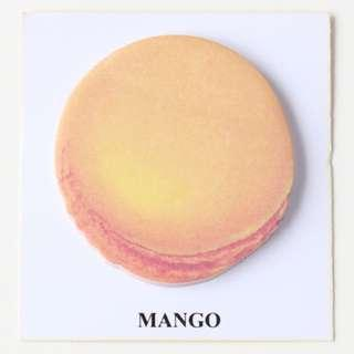 🚚 Macaroon Sticky Note - Mango
