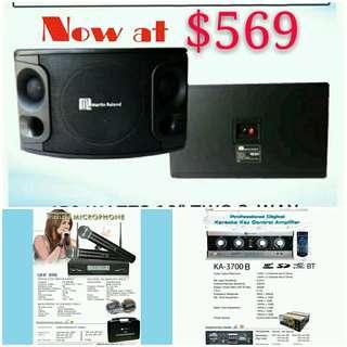 ㊗️Martin Roland karaoke system package 18