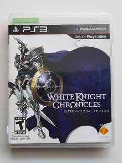 Ps3 White Knight Chronicles Game