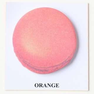 🚚 Macaroon Sticky Note - Orange