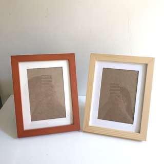 實木坐枱相架 Wooden Photo Frame
