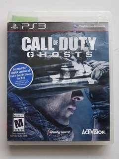 Ps3 Call of Duty Ghosts Game