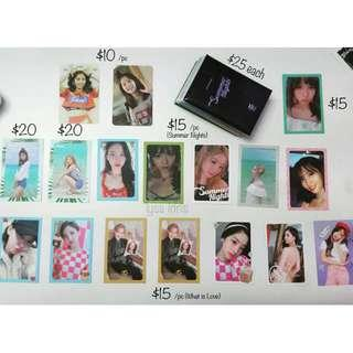 [WTS] - TWICE Official Photocards