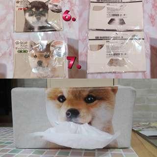 🚚 日本 柴犬 仿真 衛生紙盒