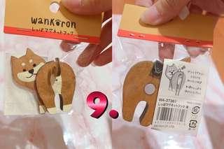 🚚 日本柴犬 鑰匙掛鉤
