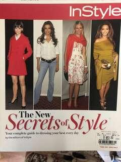Secrets of style - In style magazine