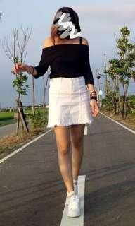 🚚 白色好搭窄裙