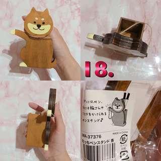 🚚 日本柴犬 迷你筆筒 橡皮筋收納
