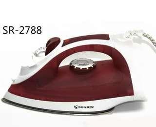 Hand held household steam electric iron stainless steel floor spray ironing machine Brand: soarin