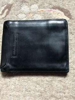 Salvatore Ferragamo Mens Leather Wallet
