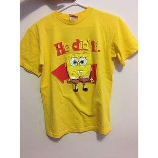 ON HOLD Spongebob tee