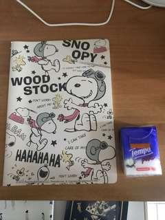 Snoopy notebook 記事簿