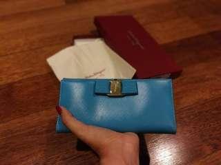 Brand new in Box Salvatore Ferragamo Long Wallet