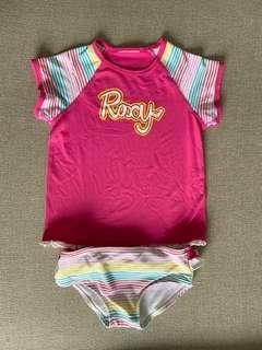 Roxy UV Rashguard Set