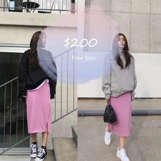 Korean skirt dress 韓國 半裙