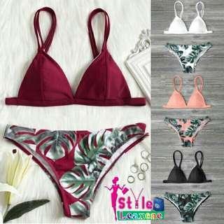 Savanna Double Strap Bikini set