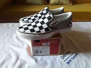 Dijual vans checker board new! Original! Bole refund