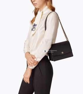 ON SALES🎉Tory Burch Robinson Convertible Shoulder Bag - Black